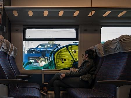 Dream on a train